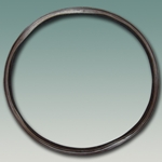 Tank Car Manway Insert Gasket - Brown FKM (Viton® A Equivalent) - Nozzle Rim Gasket